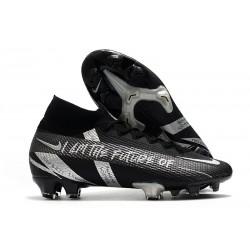 Nike Mercurial Superfly VII Elite DF FG Future Noir Argent