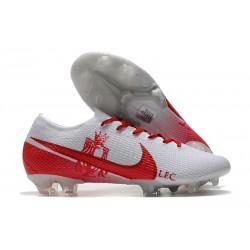 Nike Nouveaux Mercurial Vapor 13 Elite FG LFC Blanc Rouge