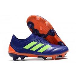 Nouvelles Crampons Football Adidas Copa 19.1 FG Violet Vert