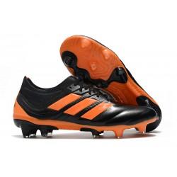 Nouvelles Crampons Football Adidas Copa 19.1 FG Noir Orange