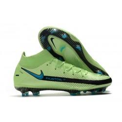 Nike Phantom GT Elite DF DF FG Crampons Vert Noir