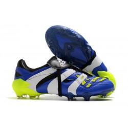 Adidas Predator Accelerator FG Bleu Blanc Jaune