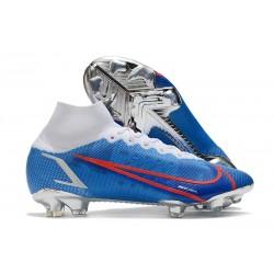 Nike Mercurial Superfly VIII Elite FG Bleu Blanc Rouge