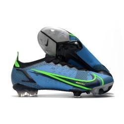 Nike Mercurial Vapor 14 Elite FG Bleu Noir Volt