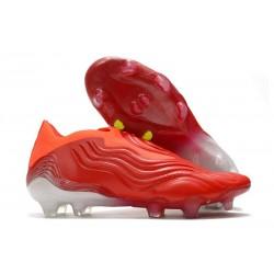 Crampons adidas Copa Sense+ FG Meteorite - Rouge Blanc Rouge
