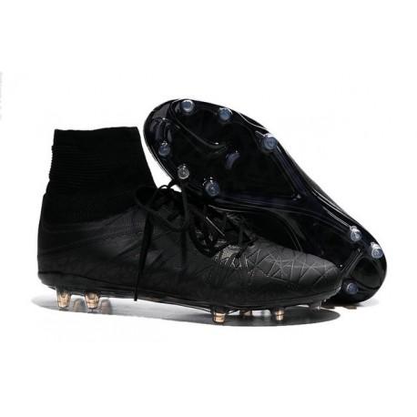 Nouveau Cramons Nike HyperVenom Phantom 2 Réfléchissant FG Noir