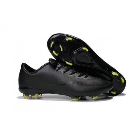 Nouvelles Crampons Nike Mercurial Vapor 10 FG Noir Volt