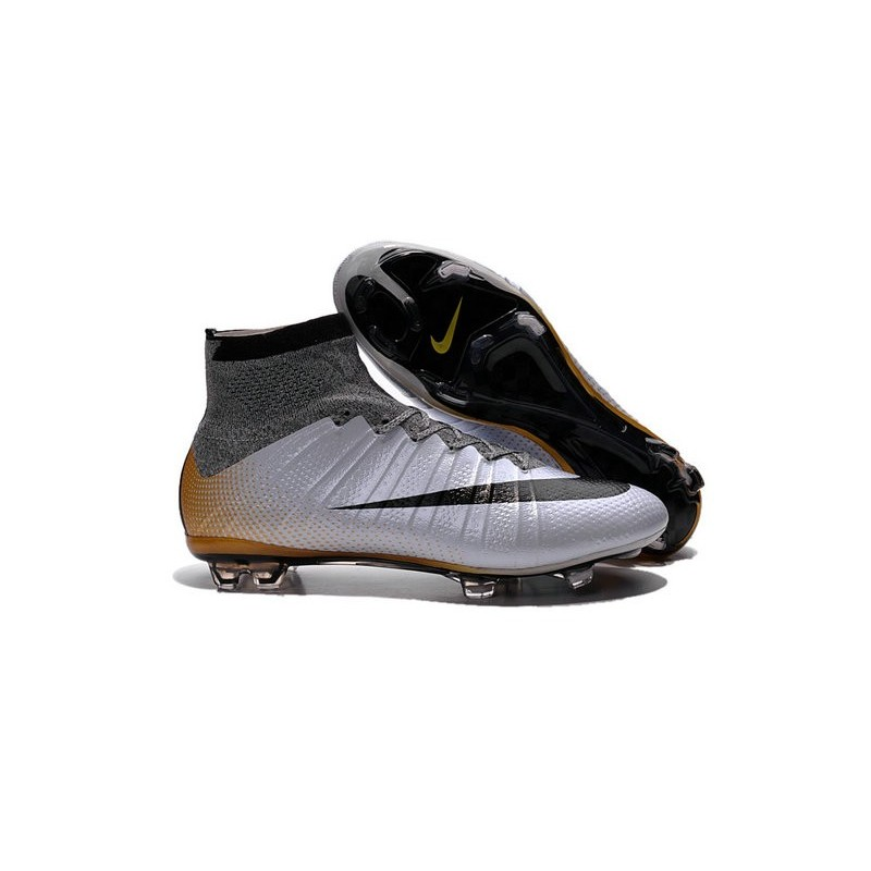 f798e8db2 good chaussures pas cher nike mercurial superfly fg cr7 500 argente gris  noir or d8b73 43cbc