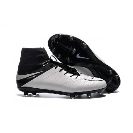 Nouveau Cramons Nike HyperVenom Phantom 2 FG Blanc Noir