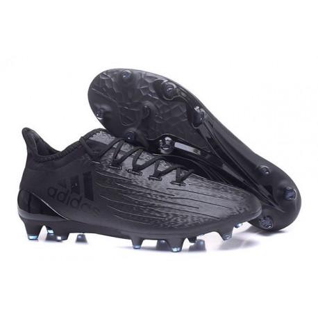 Adidas X 16.1 AG/FG - Crampons foot Nouveau tout Noir