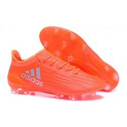 Chaussures de football Adidas X 16.1 AG/FG Pas Cher Orange Argent