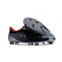 Chaussures de football Adidas X 16.1 AG/FG Pas Cher Gris Noir