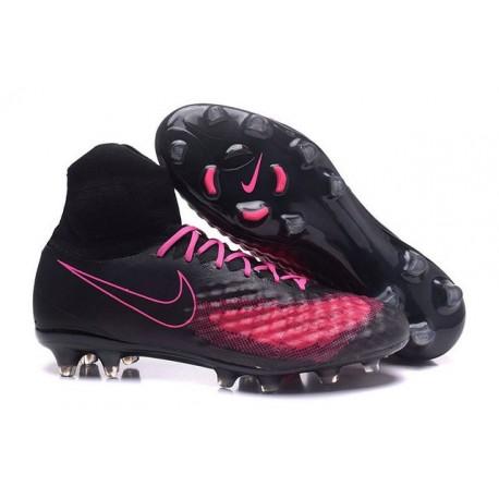 Hommes Chaussures Nike Magista Obra II FG Noir Rose