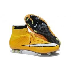 2015 Chaussures de Football Nike Mercurial Superfly FG - Orange Blanc Noir