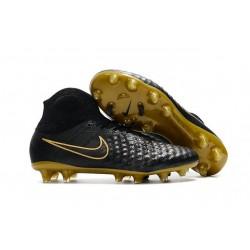 Crampons De Foot Nike Magista Obra 2 FG ACC Or Noir