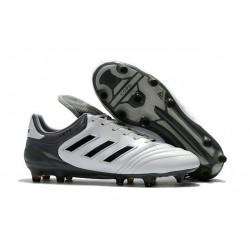Chaussures Football Adidas Copa 17+ FG Pas Cher Blanc Gris Noir