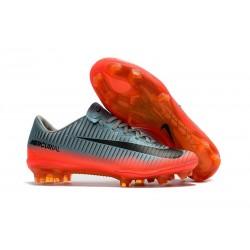 Chaussure de Foot Nike CR7 FG Nike Mercurial Vapor 11 Gris Cool Hématite Loup
