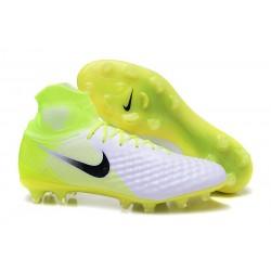 Crampons De Foot Nike Magista Obra 2 FG ACC Blanc Noir Volt