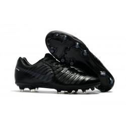 Nike Tiempo Legend VII FG - Chaussures de Football pour Hommes Tout Noir