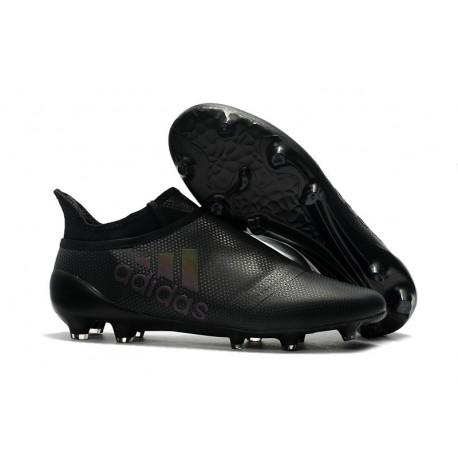 Adidas X 17+ Purespeed FG - Chaussures de Foot pour Hommes Noir
