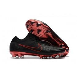 Nike Mercurial Vapor Flyknit Ultra FG - Crampons Nouveau Nike Noir Rouge