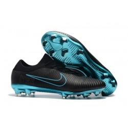 Nike Mercurial Vapor Flyknit Ultra FG - Crampons Nouveau Nike Noir Bleu