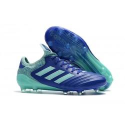Chaussures de Football Pas Cher - Adidas Copa 18.1 FG Bleu