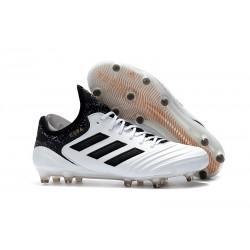Chaussures de Football Pas Cher - Adidas Copa 18.1 FG Blanc Noir Tactile Gold Metallic