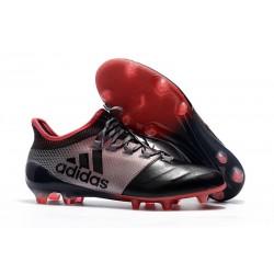 2018 Chaussures de Football - Adidas X 17.1 FG Rose Noir