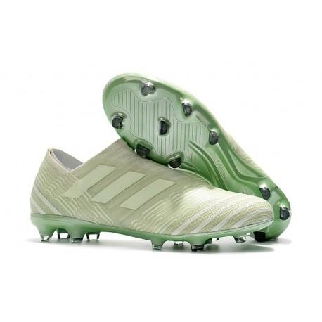 Chaussures de Football pour Hommes Adidas Nemeziz 17+ 360 Agility FG Vert Aero