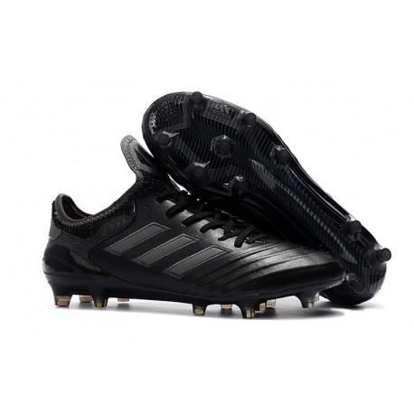Chaussures de Football Pas Cher - Adidas Copa 18.1 FG Noir