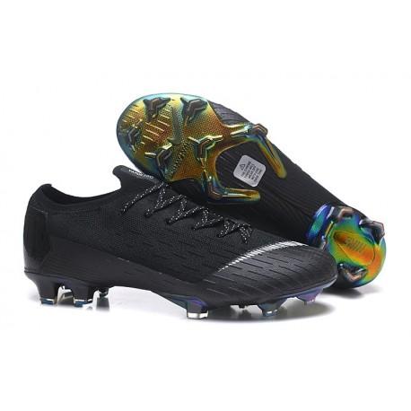 Nouveau Chaussures Nike Mercurial Vapor XII 360 ACC Elite FG Noir Blanc