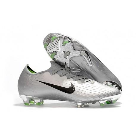 Crampons de Foot Nike Mercurial Vapor XII Elite FG Noir Argent