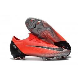 Nouveau Chaussures Nike Mercurial Vapor XII 360 ACC Elite FG Rouge ArgentÉ CR7