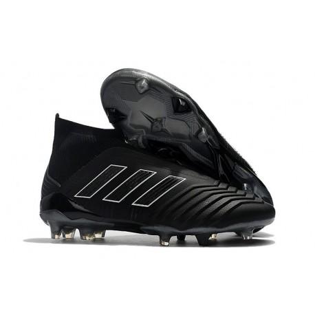 Chaussures de Football 2018 - adidas Predator 18+ FG Tout Noir