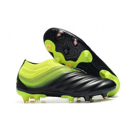 Neuf Crampons De Football Adidas Copa 19+ FG Noir Vert